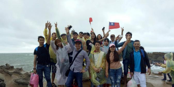 越南移工們 祝福台灣