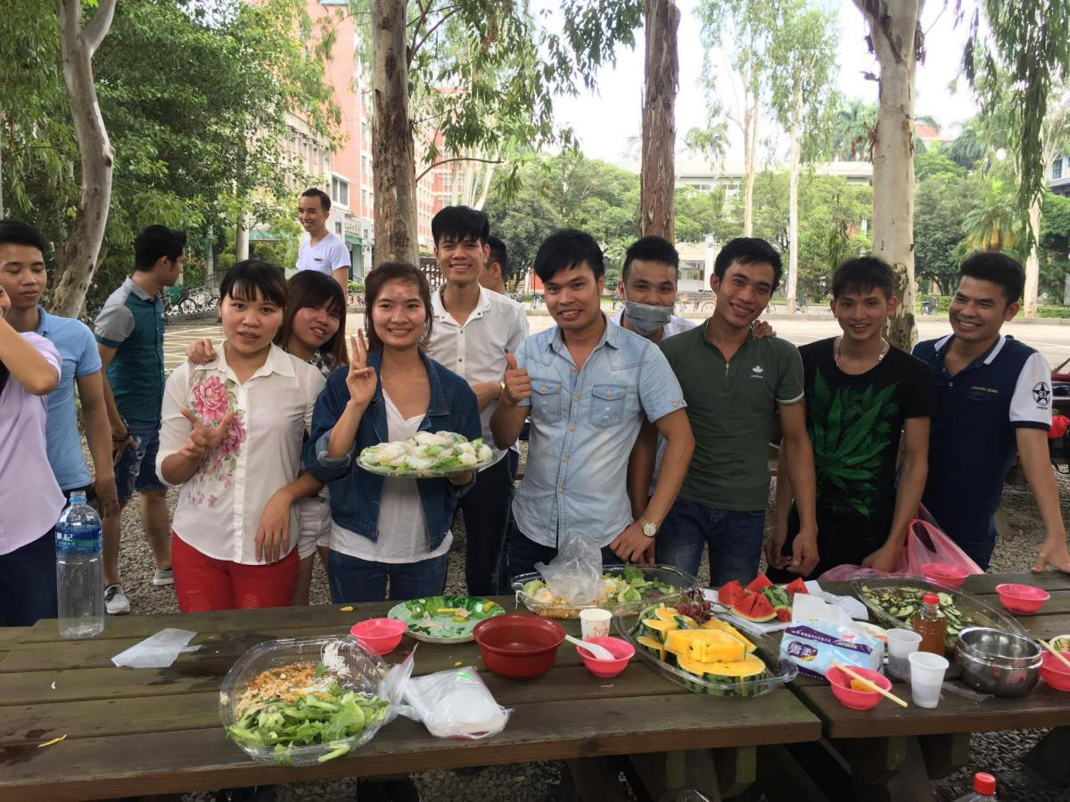 越南移工在台灣